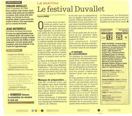 Article Midi Olympique :