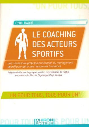 le coaching des acteurs sportifs